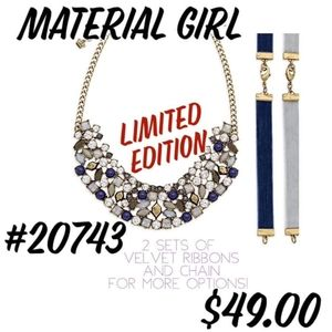 """Premier Designs """"Material Girl"""" Necklace"""